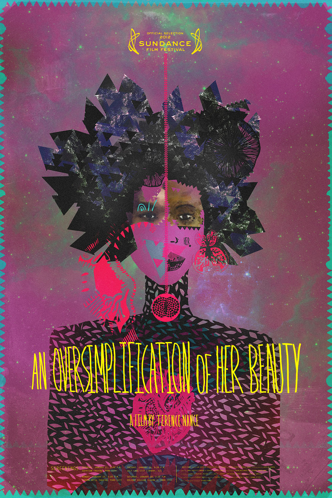 An Oversimplification of Her Beauty Movie Poster by Stephanie C. Matthews