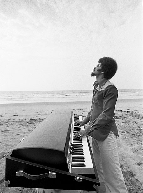 Photo: Jim McCrary, Redferns (Herbie Hancock, in California, 1976)