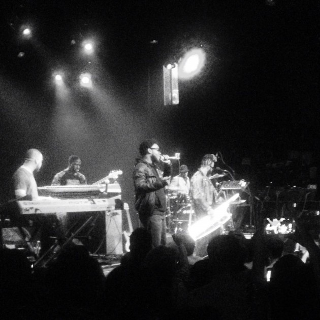 Photo: Robert Glasper Experiment w/ Dwele, El Rey Theatre, Los Angeles, 11.14.13 (Starr Lopez)