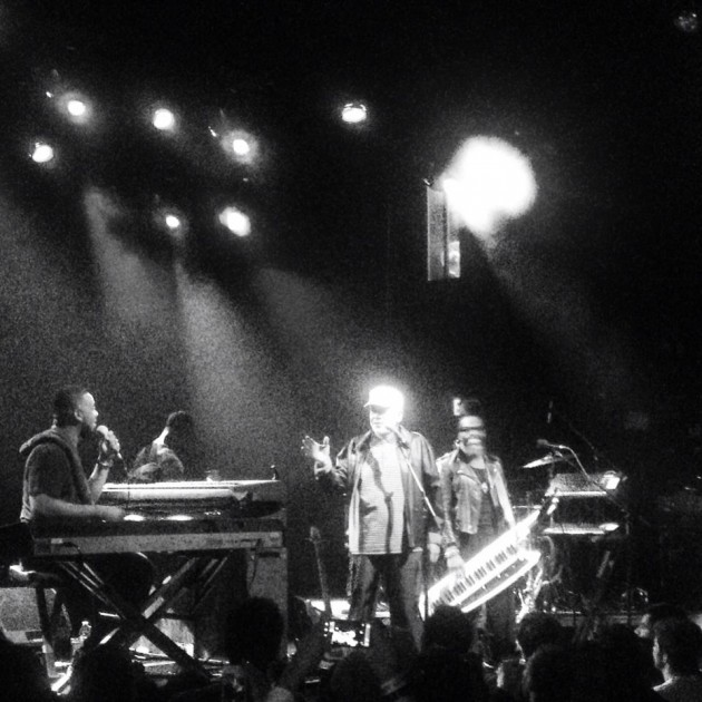 Photo: Robert Glasper Experiment w/ Bill Withers, El Rey Theatre, Los Angeles, 11.14.13 (Starr Lopez)