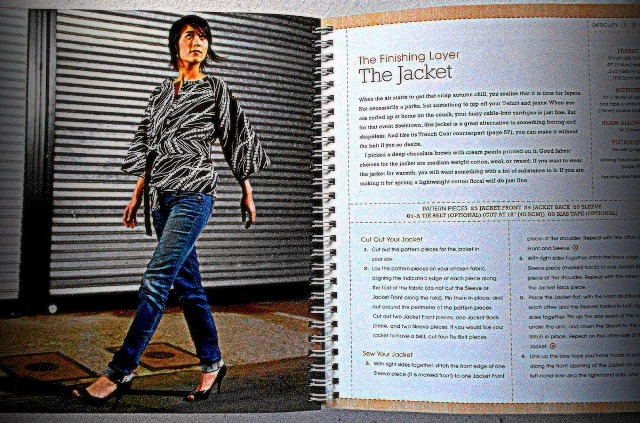 Notions & Pink Stitches: The Cute Jacket